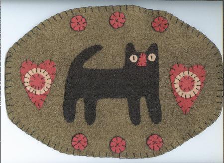 penny rug penny rug