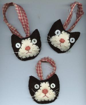 Welcome to prim penny for Cat christmas ornaments craft